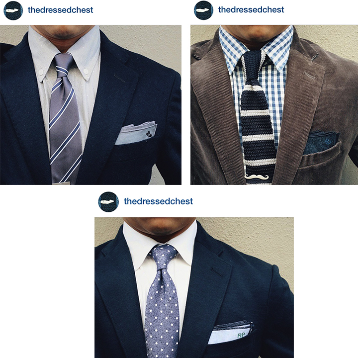 For more stye inspirations follow Rainer Jonn aka @thedressedchest