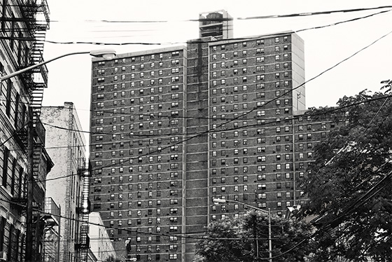 Morrisania Air Rights Houses, the Bronx.    (Photo: Christopher Anderson/Magnum Photos/New York Magazine)