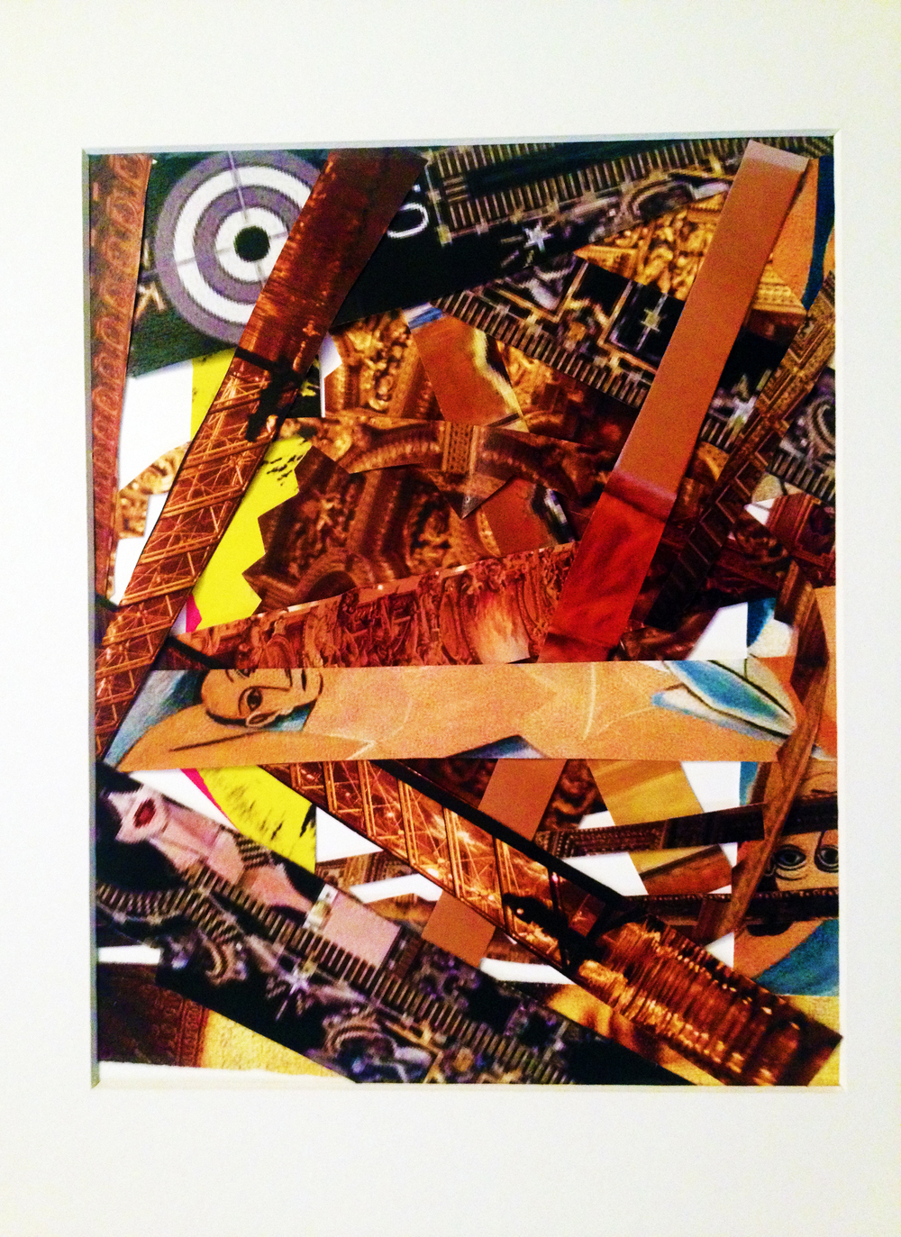 Title - Everything That Glitters Aint' Gold - This piece is about the saturation of materialism and sexuality in society.
