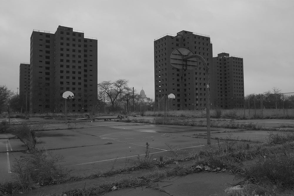 Detroit's Brewster Projects - Photo by SJ Carey
