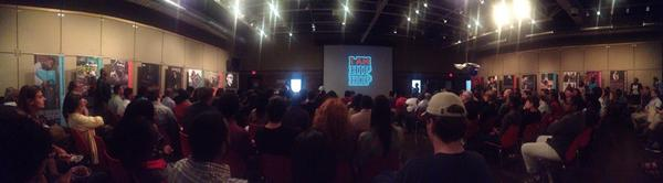 """Packed House""- Mike Ford's Hip Hop Inspired Architecture lecture at University of Detroit Mercy School of Architecture."