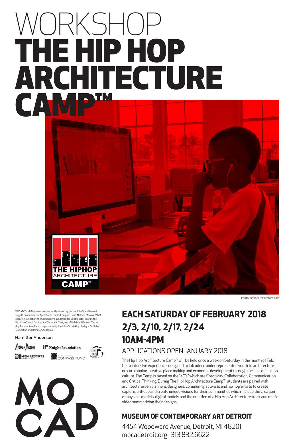 HIP HOP ARCHITECTURE CAMP - MOCAD