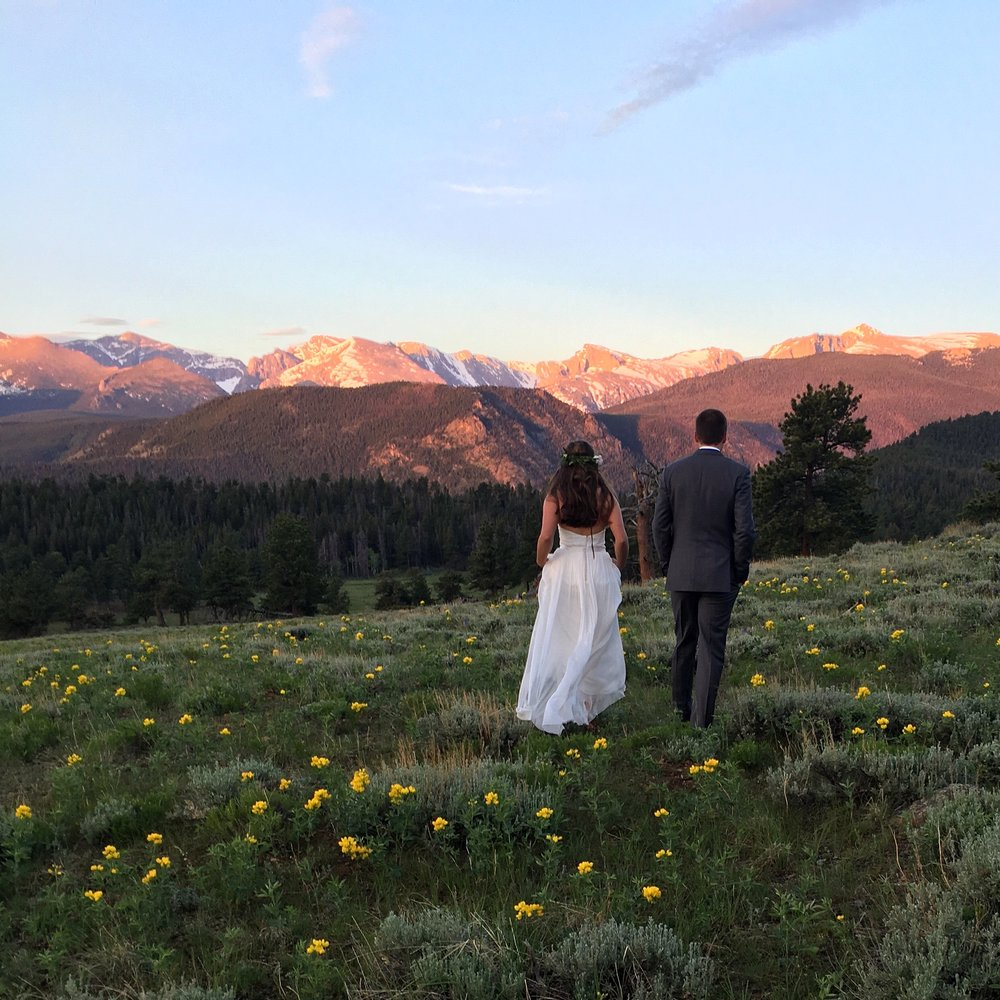 A few pictures from my trip out to Colorado for my cousins wedding