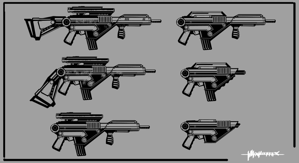 Black Hawk - Rifle Modification Concept