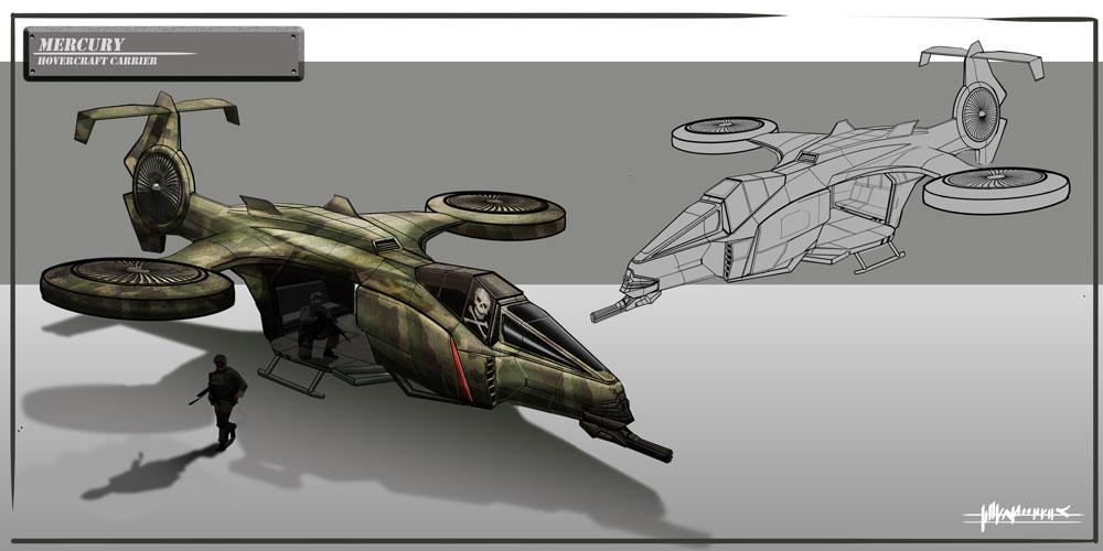 Black Hawk - Carrier Concept