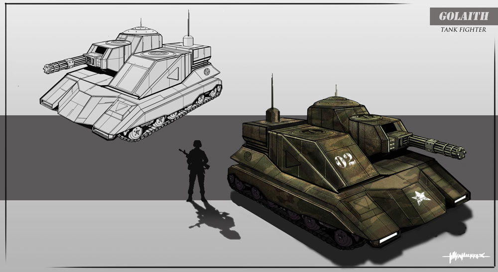 Black Hawk - Patrol Tank Concept