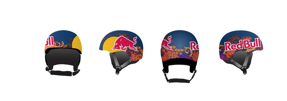 Red Bull Anthony Napolitan Helmet Design