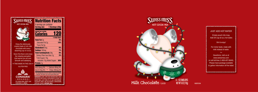 Swiss Miss Concept Design Xmas 2017
