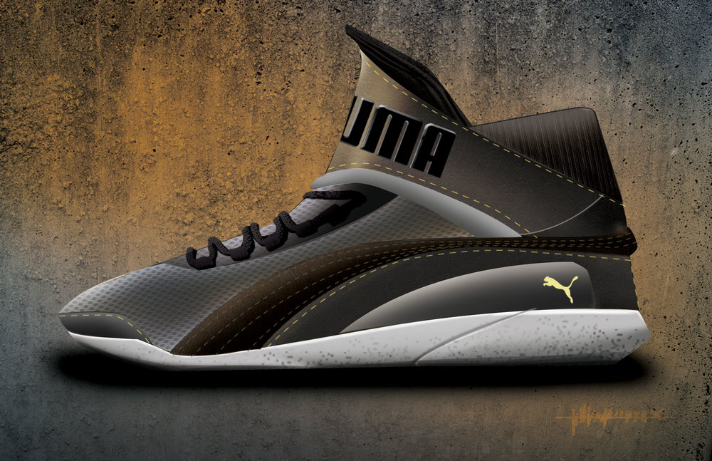 Boxing shoes Puma