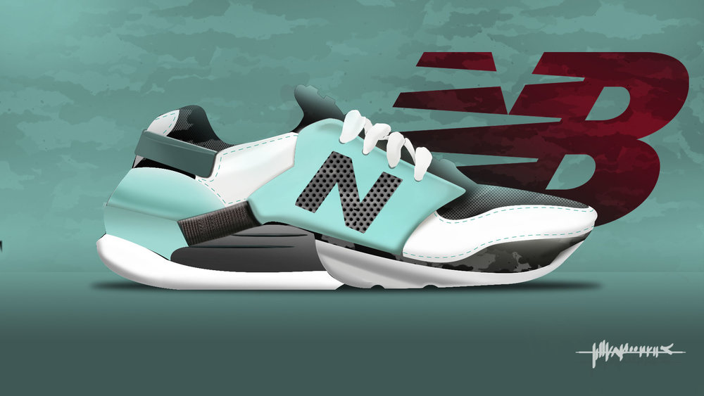New Balance shoes concept