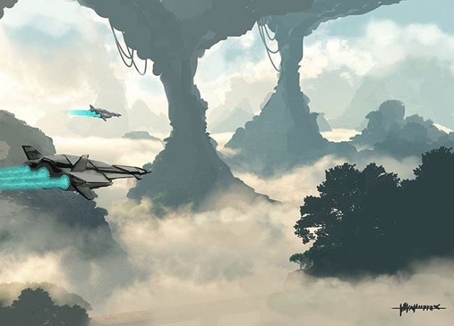 Environment painting #conceptart #conceptdesign #concept #environmentdesign #environment #art #design #games