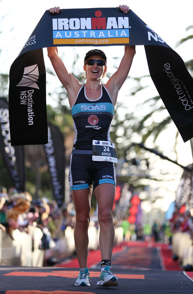 Gator takes second in the professional female category in Ironman Port Macquarie 2013