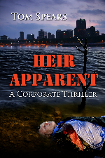 Cover for Heir Apparent, my most recently published novel.