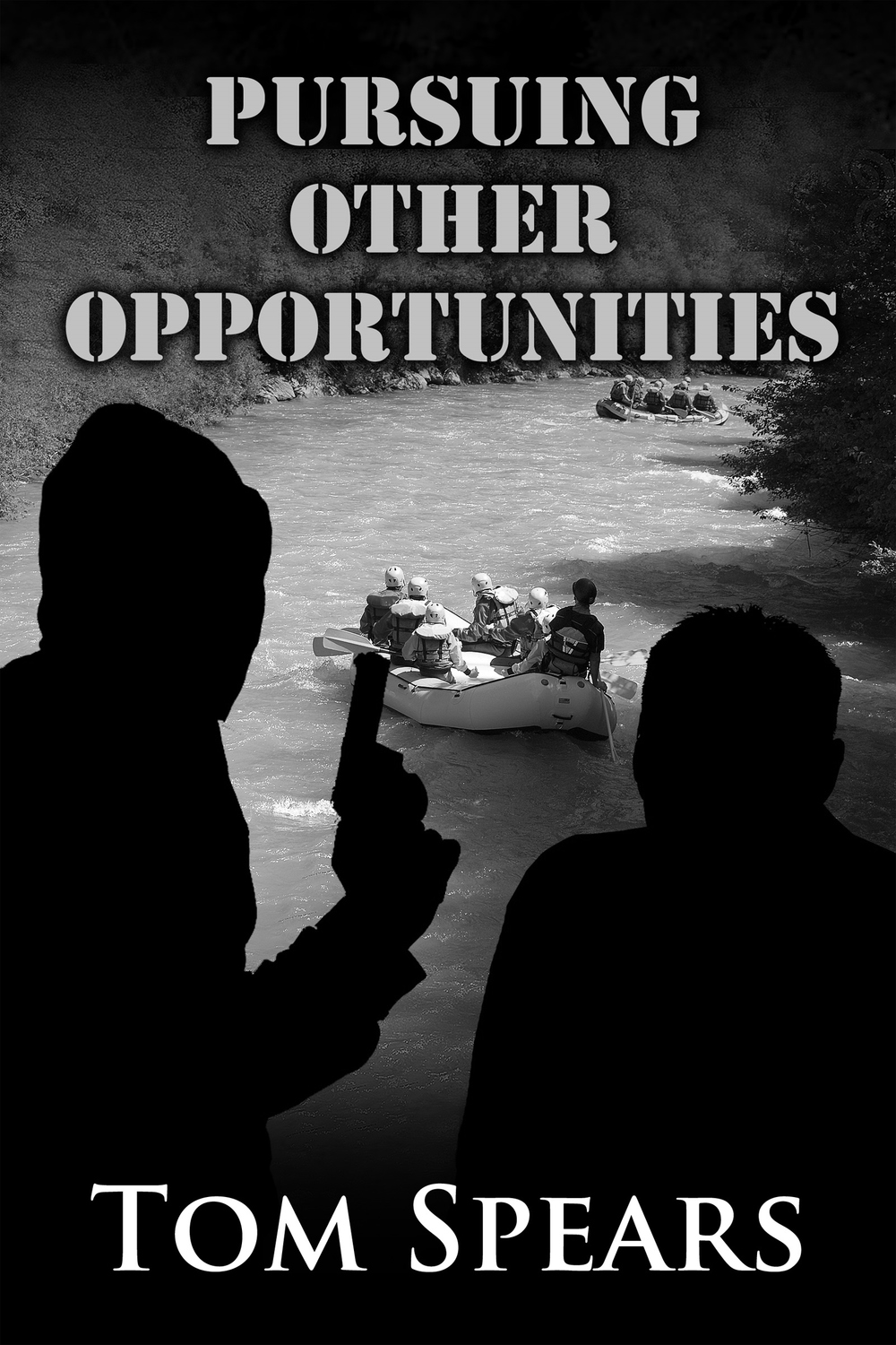 Cover of my latest novel:  Pursuing Other Opportunities