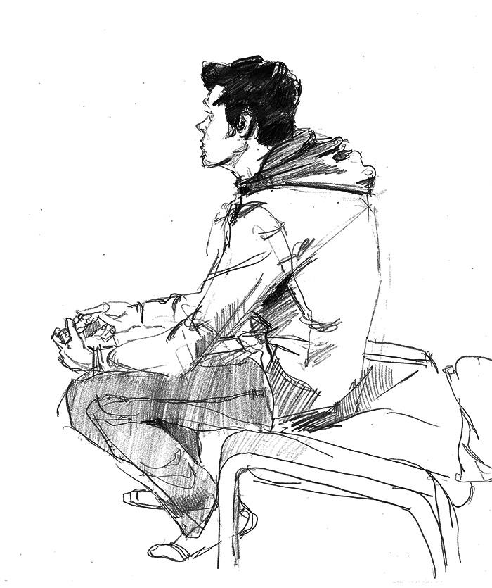 observational sketch 2015