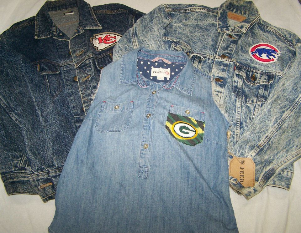 Denim Sports Vests