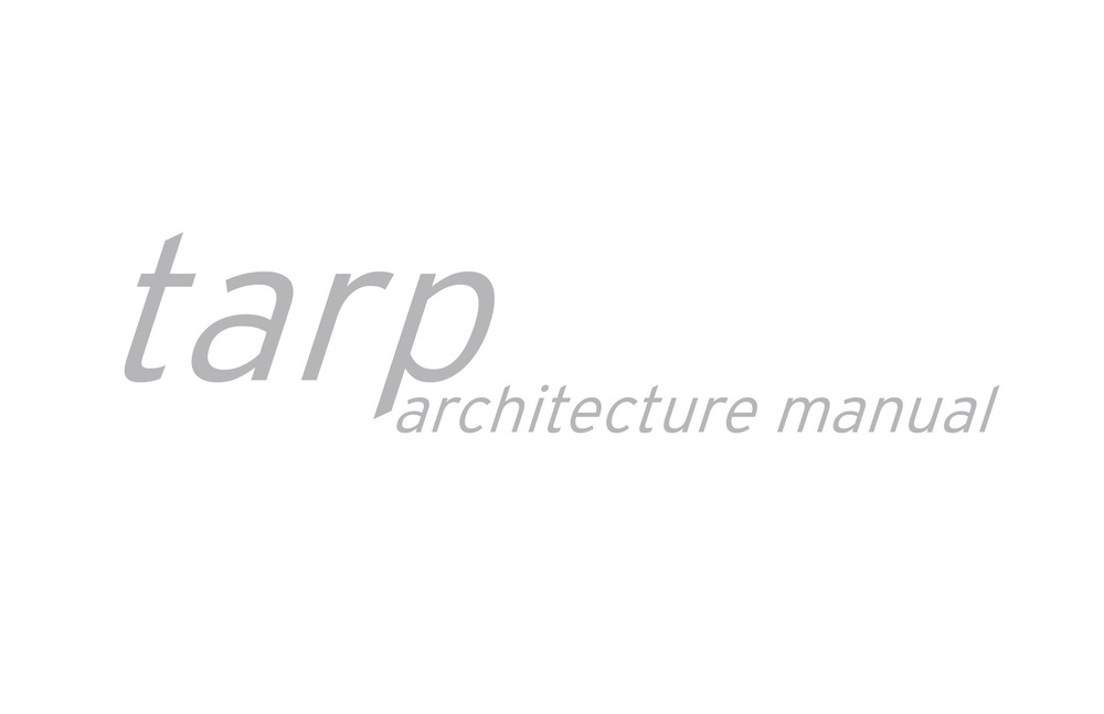 tarp:architecture manual
