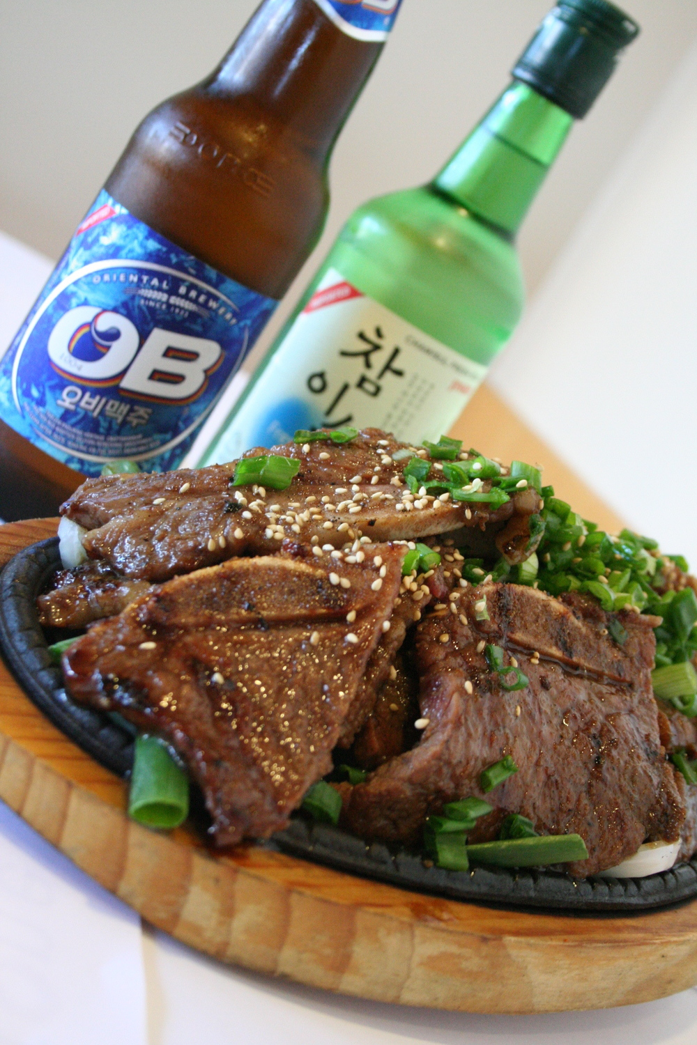 Stone Kalbi (marinated short ribs)