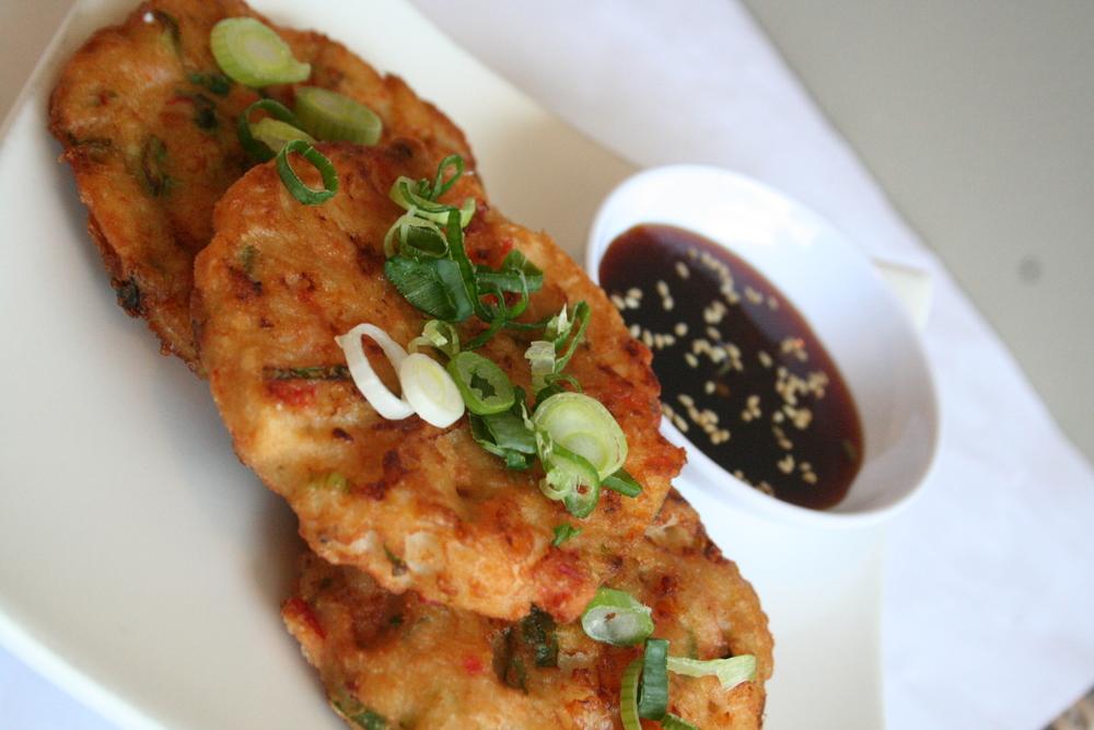 Seanfood Pa Jun (Korean savory pancakes)