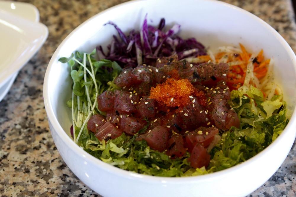 Hwae Dup Bap (sashimi rice salad)