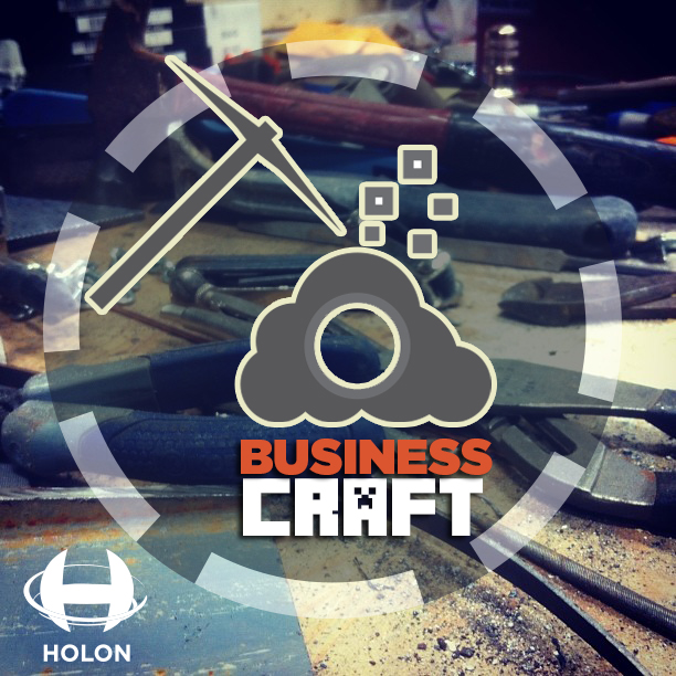 "My ""Business Craft"" design. Note: I actually use the term ""business craft"" at my company to denote a line of services which basically includes all of the ""Visual"" brand elements that a brand/business needs. Which can be seen on the Marketing page of our website at  www.Holonpublishing.com"