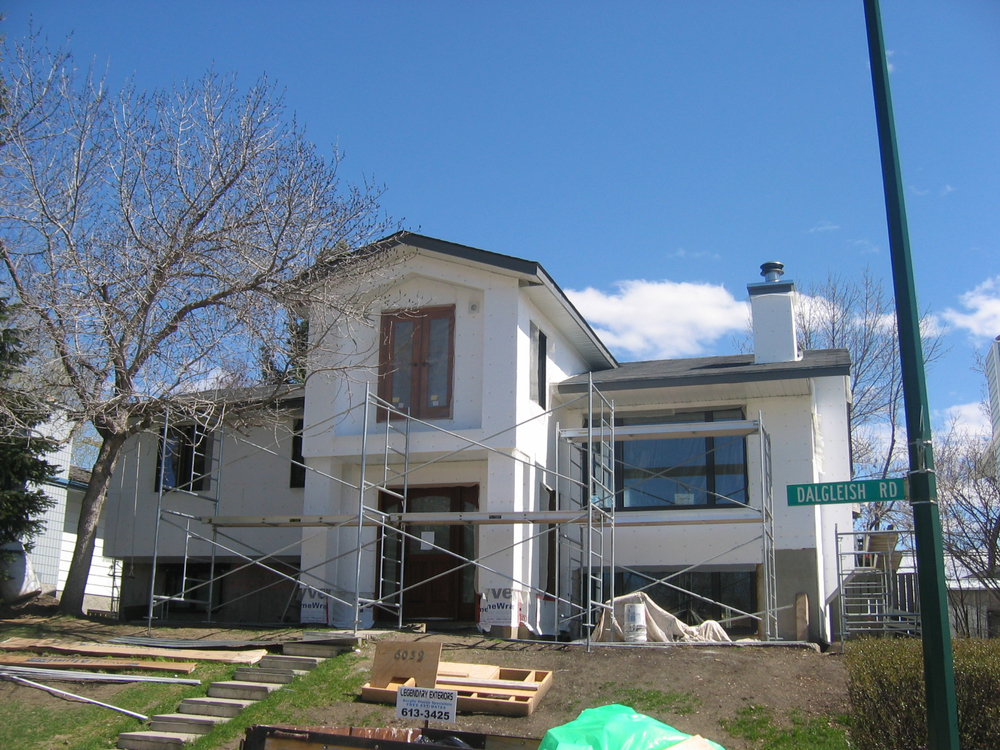 Home renovations calgary general contractor additons Bi level house remodel