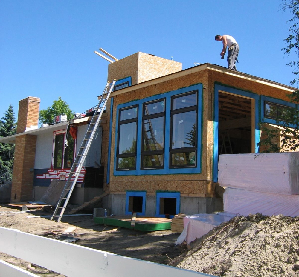 Home renovations general contractor calgary additions for Modern house additions
