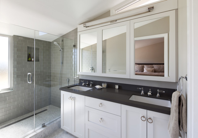 Beautiful Modern Bathroom by Marcus Gleysteen Architects Architects & Designers, (Photo: houzz.com)