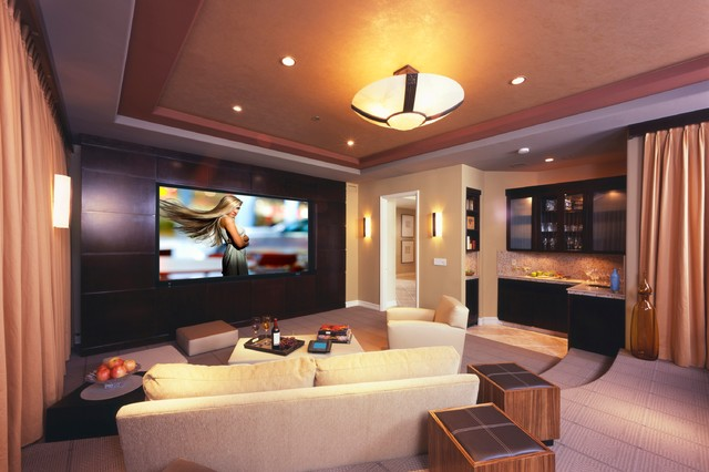 Home Theater   Design And Construction U2014 Home Renovations General  Contractor Calgary: Additions, Renovations, Custom Home Builder