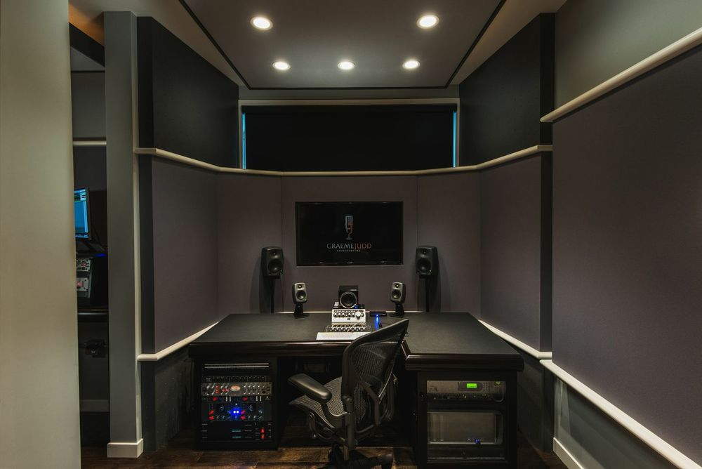 Recording Studio - Calgary; General Contractor: Harmony Home Projects Inc.