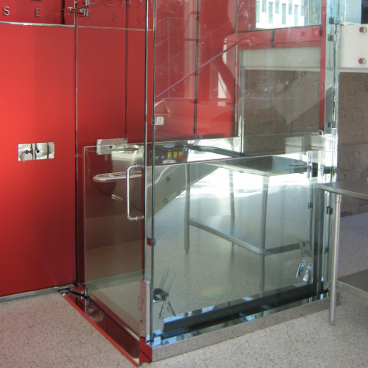 Wheelchair Lift - V-1504 Vertical Platform by Savaria
