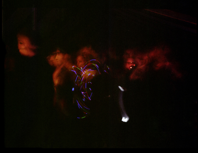 """ Rave tent at 2am ,"" 2010."