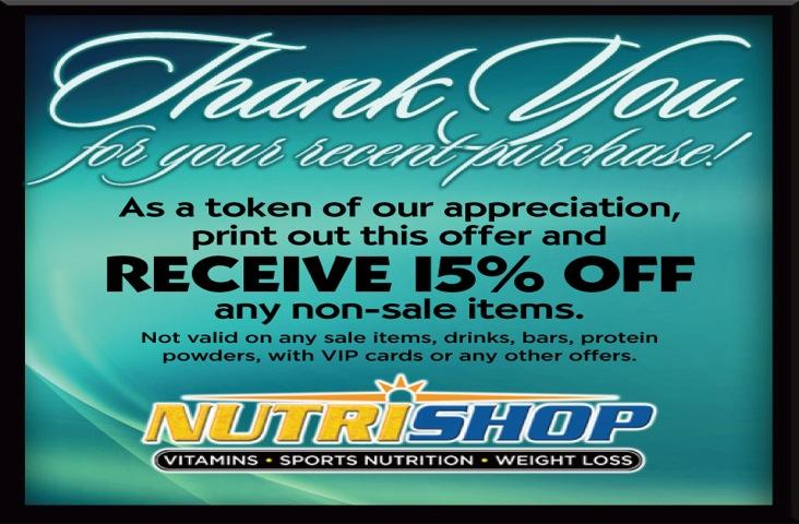 NutriShop Discount