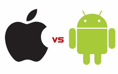 iOS vs Android: CC Image courtesy of George Thomas on Flickr.
