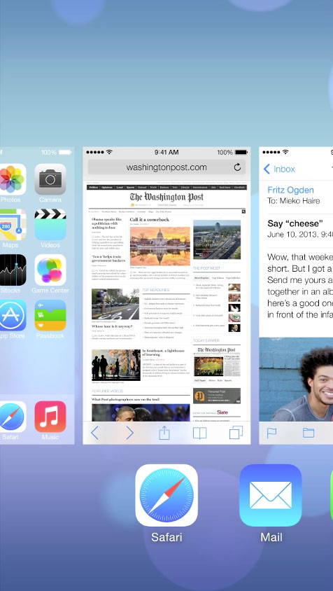 iOS7 Multitasking
