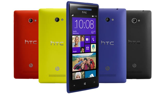 HTC 8X - Windows Phone