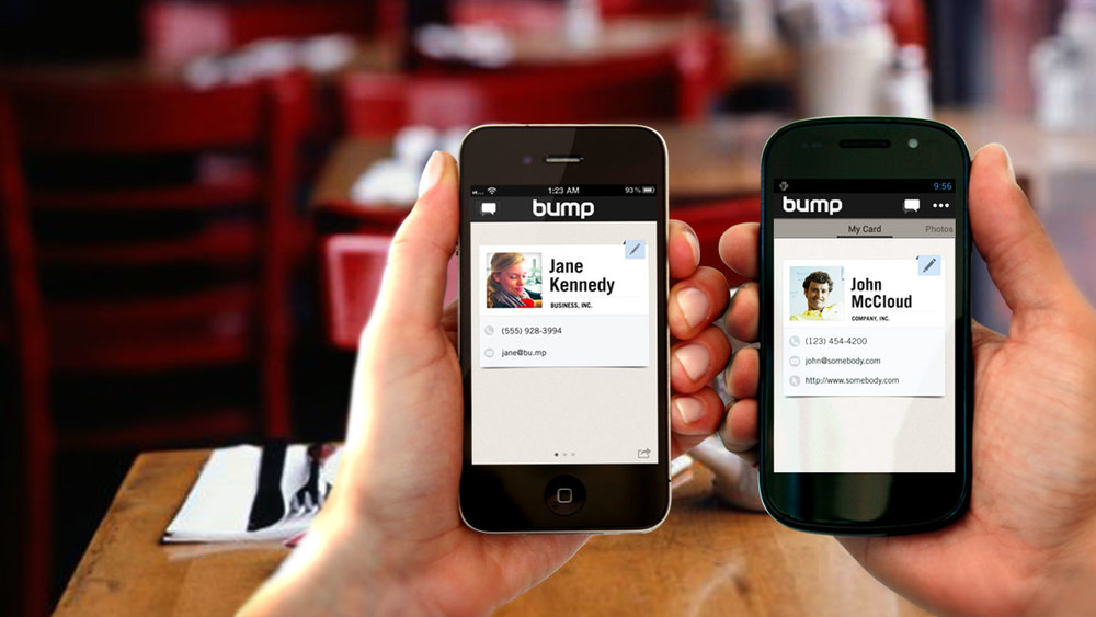 Bump: image courtesy of Read Write