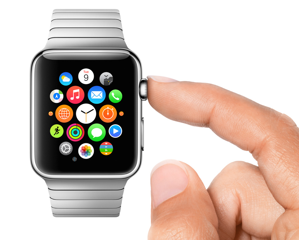 The Digital Crown is the Apple Watch's main navigation system.
