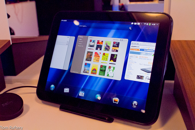 HP TouchPad with Web OS