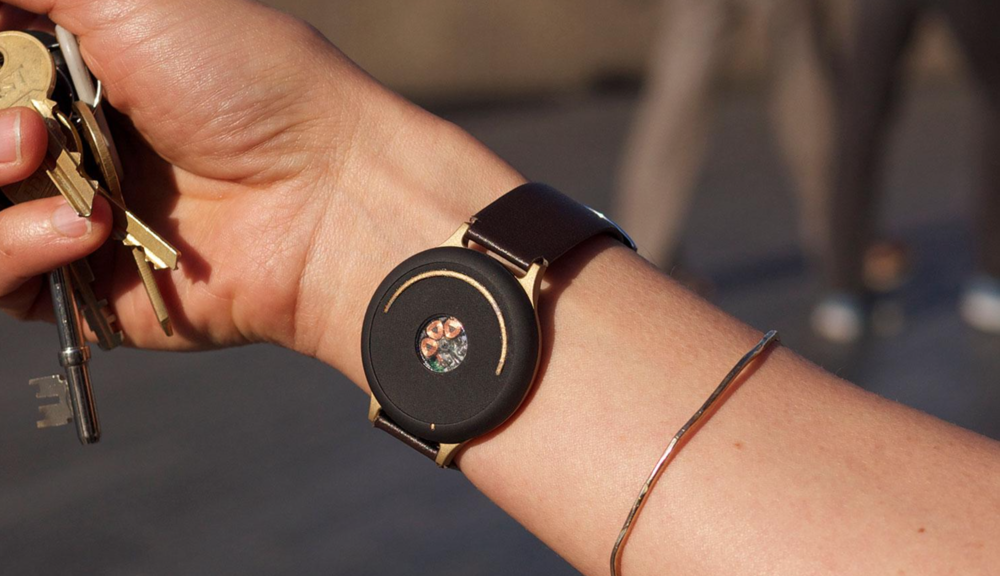 The Doppel wearable seamlessly integrates into the user's life. Source: Digital Trends
