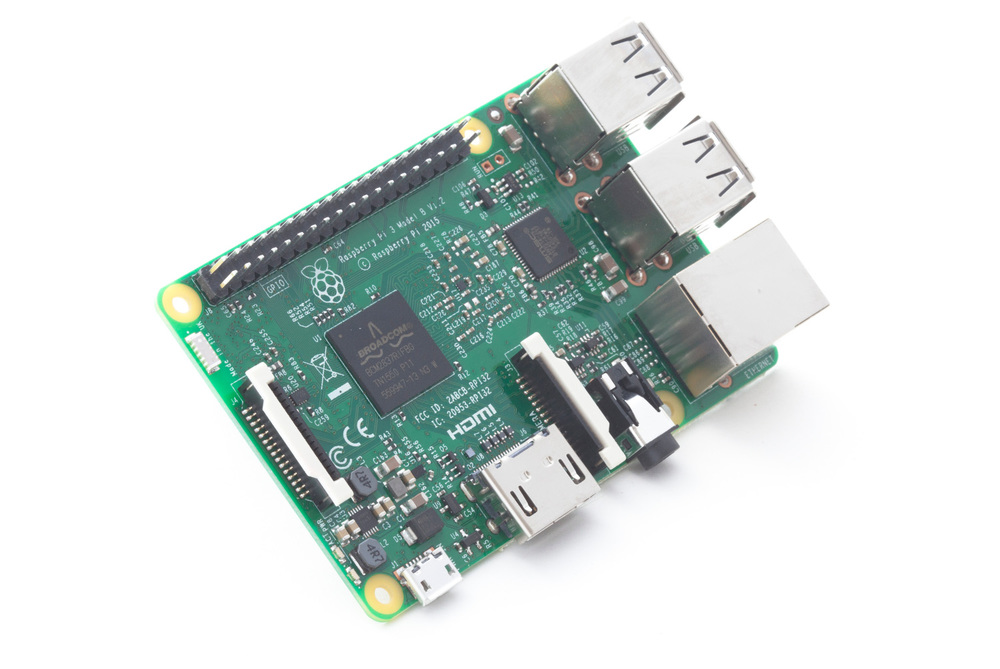 The Raspberry Pi 3 now as built-in WiFi and Bluetooth and is ready for IoT