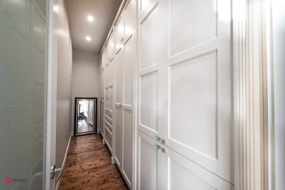 A custom Closet like no other. Wall to Wall, Floor to Ceiling all the space a woman with good taste needs .