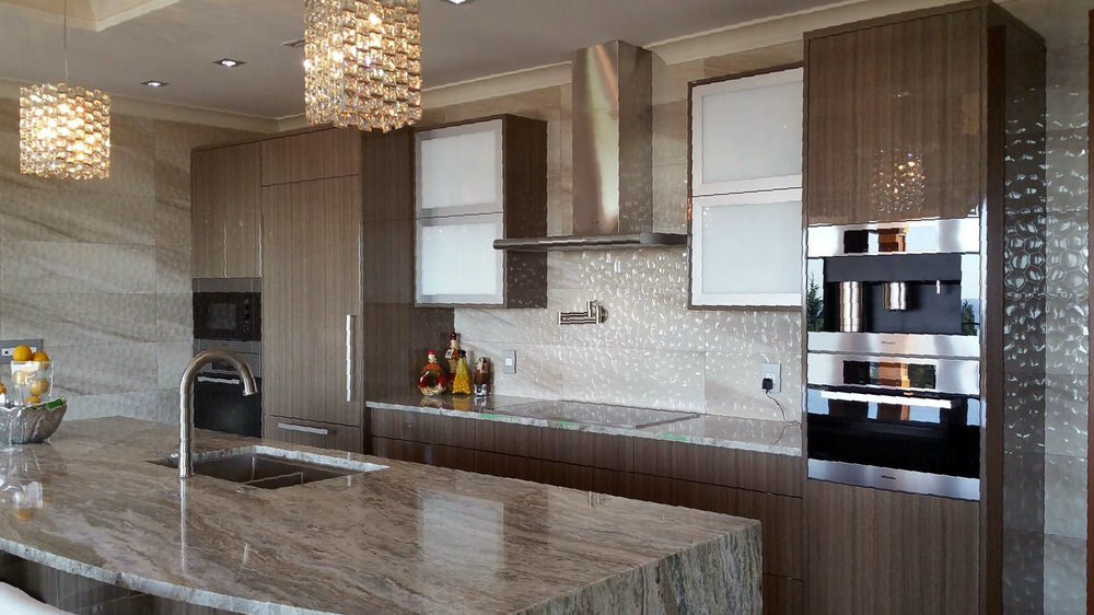 A Great Example Of Clean Simple Lines, A High Gloss Polyurethane Finish On  A Laminate, The Colors And Finish Are Not Done Any Justice Through The Pic,  ...