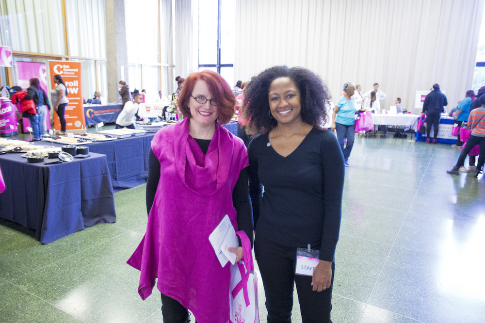 Executive Director Anne Marie Murphy, Ph.D. and Associate Director Teena L. Francois, MPH