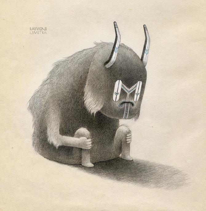 Raymond Lemstra  Fur  Giclée print (edition 30) 30 x 30 cm  Inquire