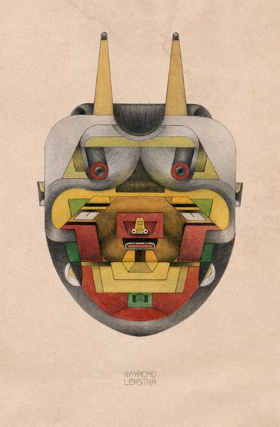 Raymond Lemstra  84  Giclée print (edition 30) 20 x 30 cm  Inquire