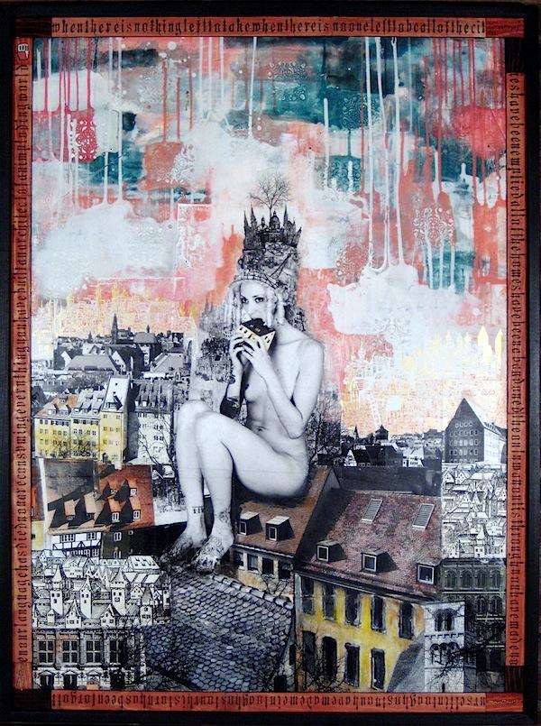 David Hochbaum OUROBOROS Gelatin Silver Print, Carbon Transfer AcrylicMixed Media 94cm x 126cm € 7.500