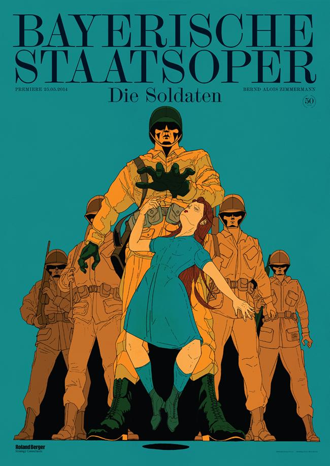 Stefan Glerum - Die Soldaten (Bayerische Staatsoper)