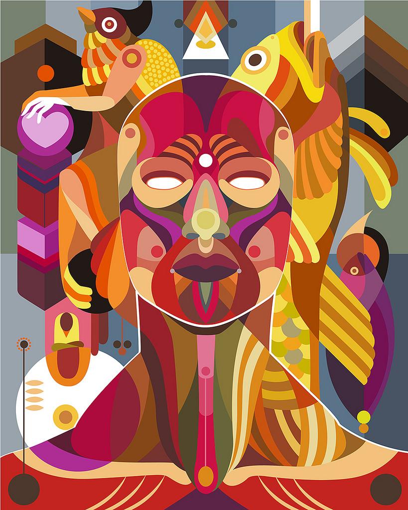 - Fernando Chamarelli'Observação Das Forças Da Natureza'Limited Edition print releasecontact for details