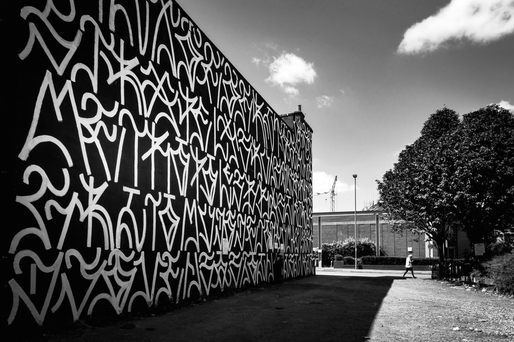 Cripta Djan mural in Birmingham, UK